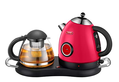 Cordless Electric Stainless Kettle Set