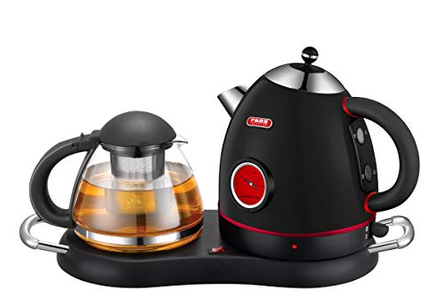 NEW DESIGN Tea/Coffee Maker, Cordless Electric Stainless Kettle Set